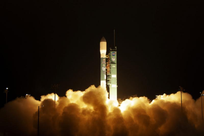 The final launch of a Delta II rocket lifts off from Vandenberg Air Force Base in Santa Barbara County