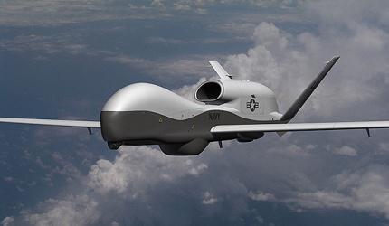 A MQ-4C Triton Unmanned Aircraft