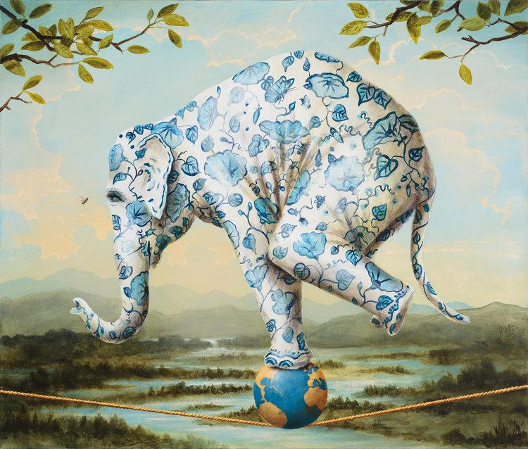 The art of Kevin Sloan will highlight the next California Museum of Art Thousand Oaks exhibition, when the museum opens in its new space in the Oaks Mall in Thousand Oaks in November
