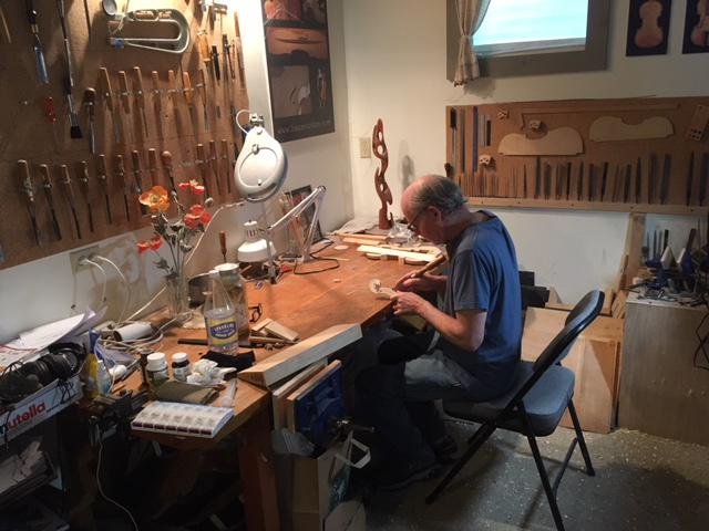 It can take the craftsman more than two months to make a violin, which can sell for around $20,000.