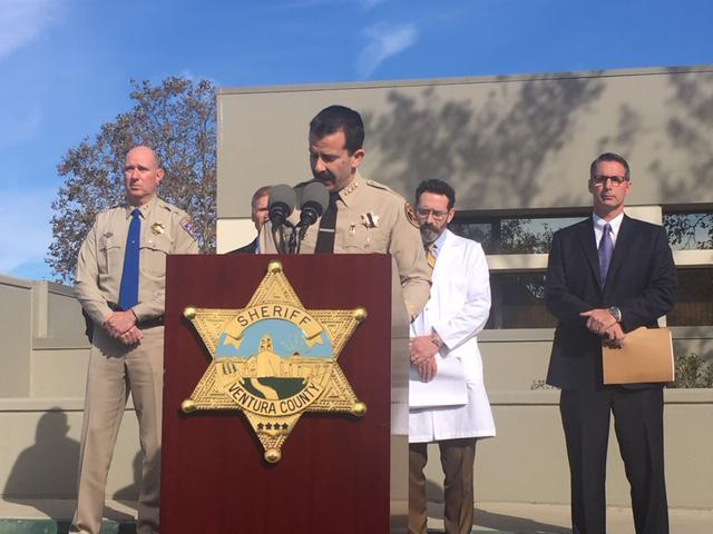 Ventura County Sheriff Bill Ayub holds first news conference on Borderline Bar and Grill attack since week of incident