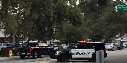 Area where shootings occured in Thousand Oaks