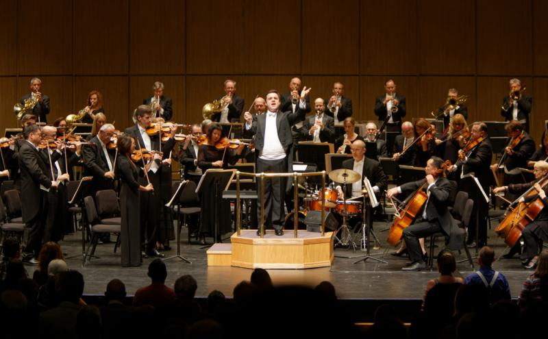 Maestro Michael Christie is the new Music Director for the New West Symphony