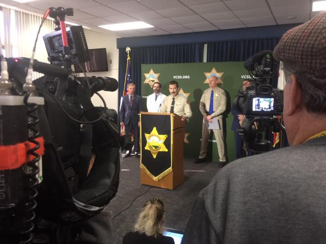 Ventura County Sheriff Bill Ayub has an update on the Borderline Bar and Grill shooting.  At Friday's event, he siad that friendly fire led to the death of a Ventura County Sheriff's Sergeant who died trying to stop the gunman.