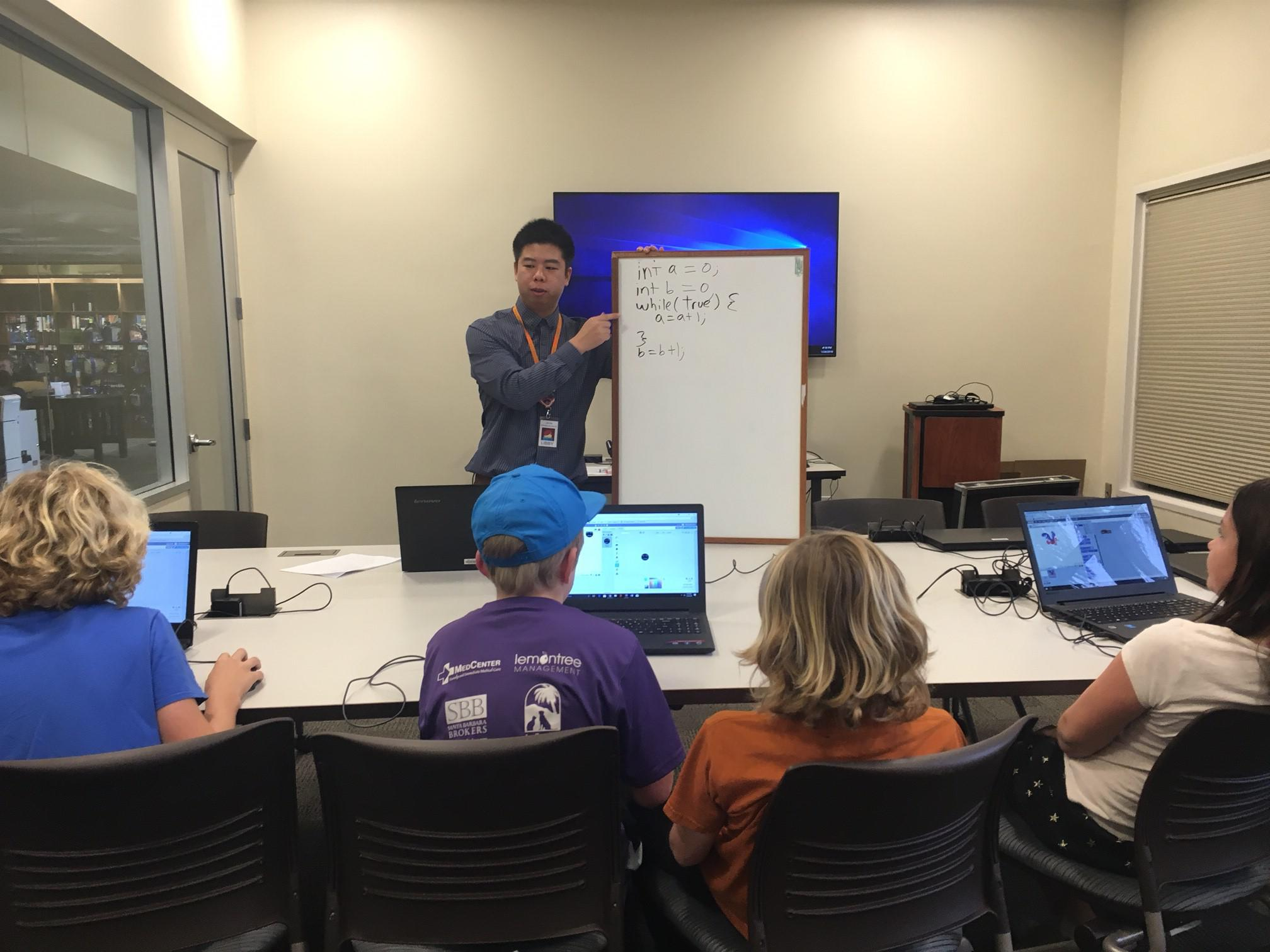 Technology Management Image: Computer Science Course On South Coast Teaches Kids Skills