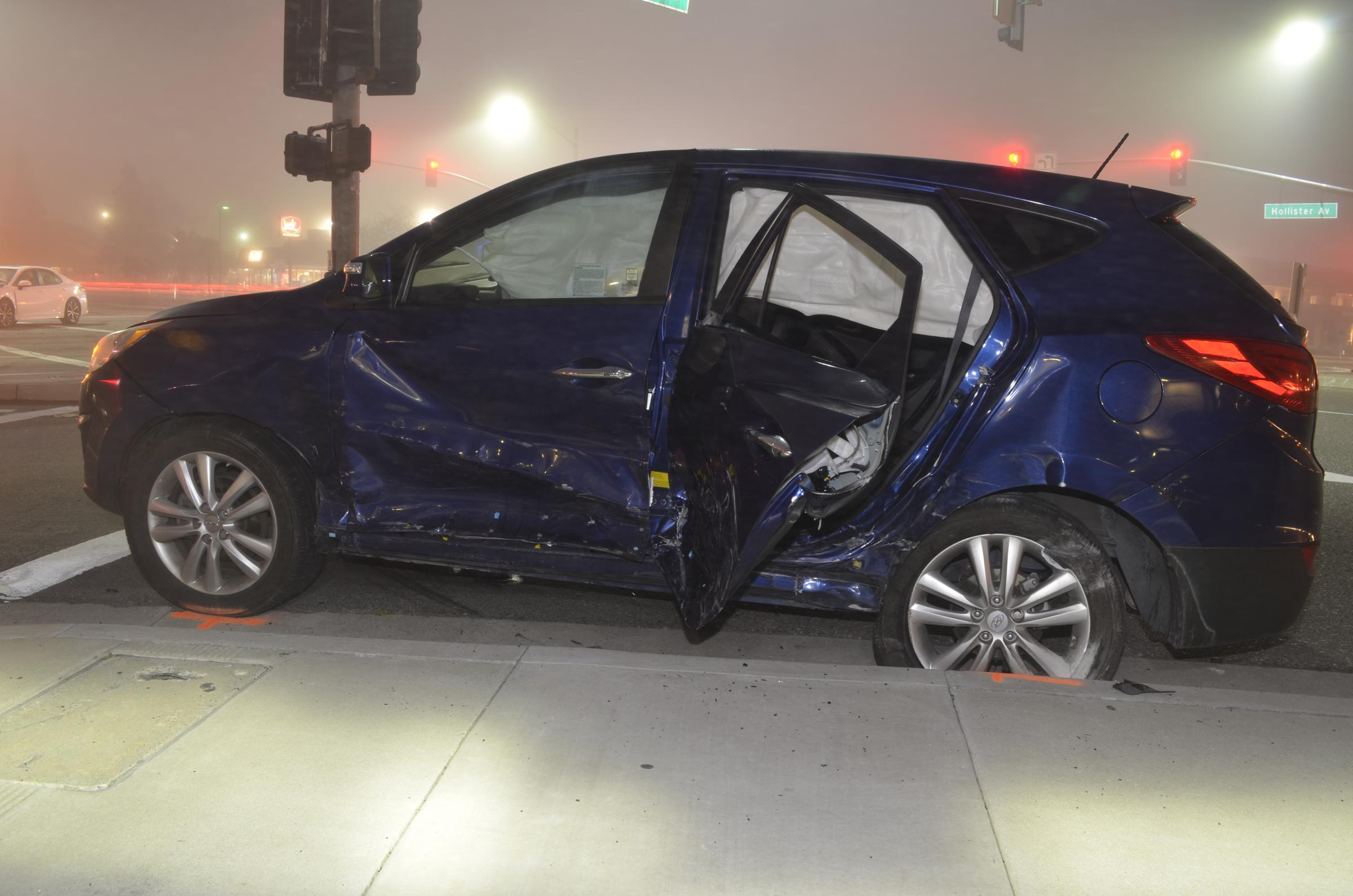 One Dead, Four Hurt In Traffic Accident Involving Uber Car On South ...