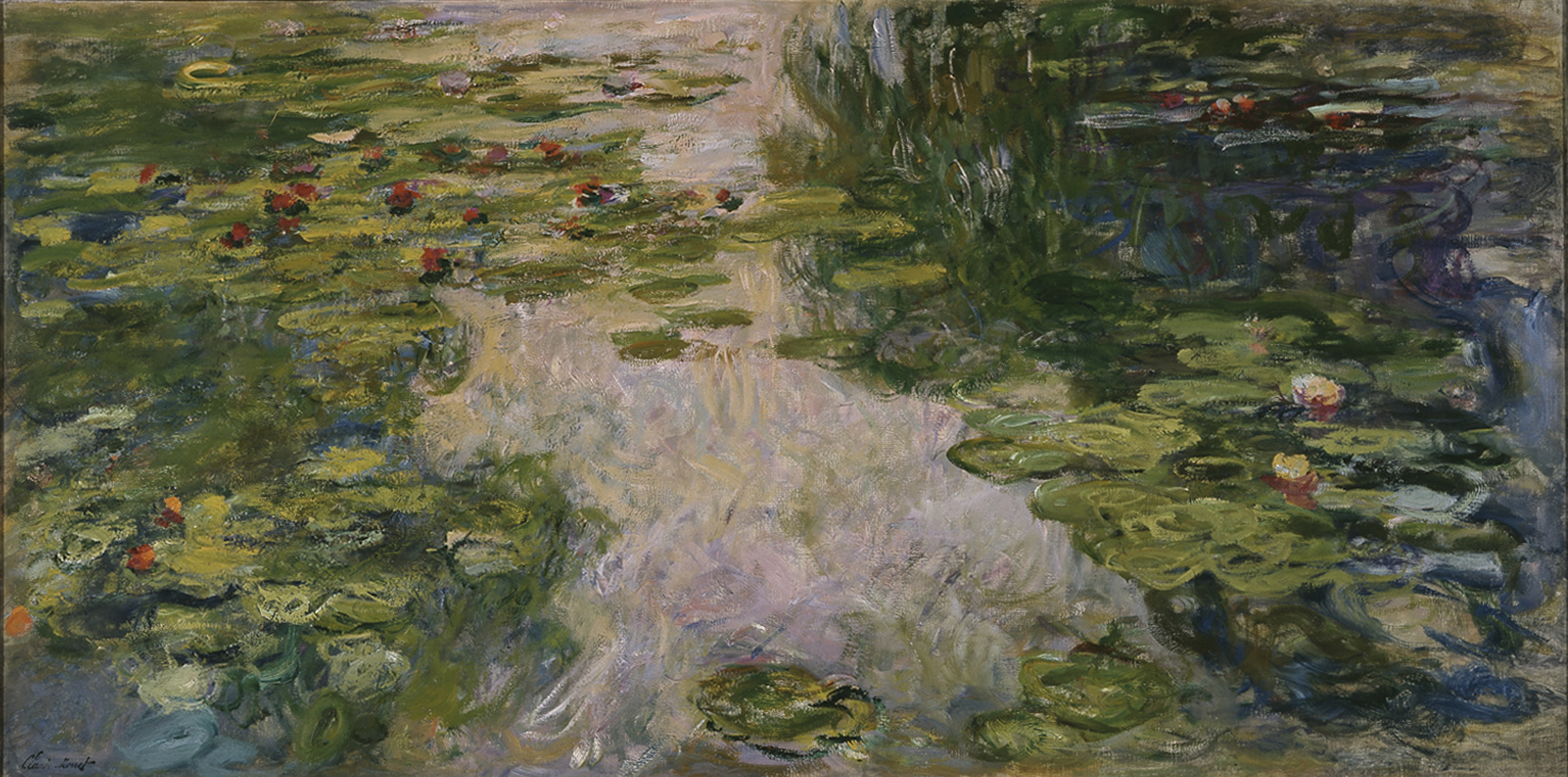 water lilies by claude mo oil painting canvas - Monet Coloring Pages Water Lilies