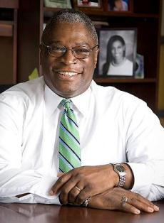 Kansas City Mayor Sly James delivered his 2014 State of the City address to high school students at Park Hill High School.