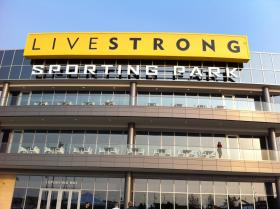 You won't see this yellow sign adorning Sporting KC's stadium anymore