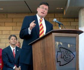 Jackson County Executive Mike Sanders