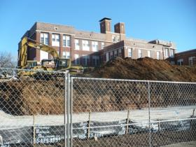The Bancroft School in Manheim Park is being converted into affordable housing and a community meeting spot.