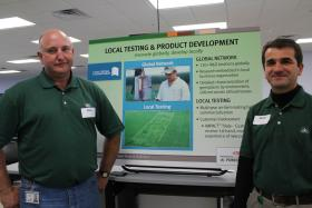 DuPont Pioneer corn breeders Russ Fox and Goran Srnic try to create corn varieties perfectly suited to their environment.