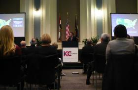 "During yesterday's launch of ""phase two"" of the Mayor and local Chamber's citywide wellness initiative, Matthew Condon, head of a KC-Based employer wellness company, warned that unless something changes, Kansas and Missouri will be in big trouble when it comes to their high rates of obesity and related chronic diseases."