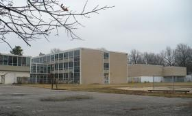 The vacated Bingham Junior High School property is the site for the proposed Walmart Neighborhood Market in Waldo.