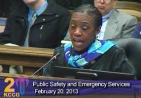 Councilwoman Melba Curls said Kansas City need more groceries, less liquor stores.