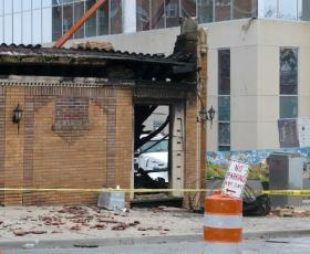 It's been a year since an explosion destroyed JJ's Restaurant on the Plaza.