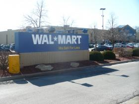 The Walmart in Roeland Park, Kansas on Roe Ave.