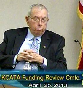 Councilman Dick Davis once managed the bus transit service. He now weighs-in on full conversion to natural gas fuel.