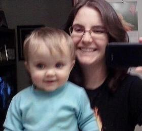 18 month old Lana bailey is missing, her mother seen here, murdered.