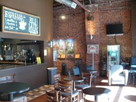 Crosstown Station bar has been converted into a coffee shop.