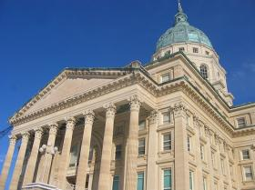 The Kansas Legislature passed its budget and tax plan Sunday morning.