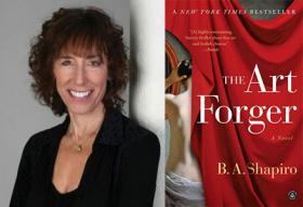 Barbara Shapiro talks about counterfeit art in her new novel.