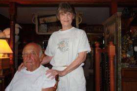 Lyle and Donna Warford chose to remain in Old Pattonsburg, though it meant they would not be able to buy flood insurance.