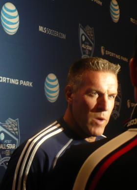 Sporting KC Coach Peter Vermes told reporters Wednesday's All Star Game would be as competitive as any regular season game.