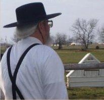 Dr. Gary Yarbrough in the countryside outside Parsons, Kansas where he practices among the Amish and English.