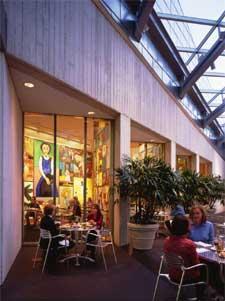Café Sebastienne at the Kemper Museum of Contemporary Art