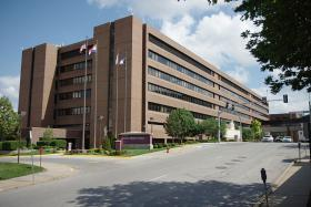 Truman Medical Center in Kansas City, Mo. serves many low-income families in the area.