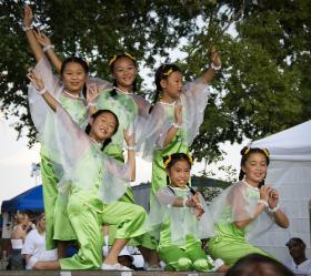 Kansas City's Ethnic Enrichment Festival features many different cultures.
