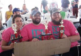 Team Farbrengit wins big at kosher barbeque competition.