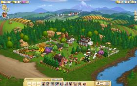 Farmville players build and care for their own Facebook farm. Like real-life farmers, players plan their moves based on policy.