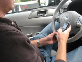 KU professor Paul Atchley studies distracted drivers.