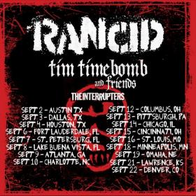 Rancid appears with Tim Timebomb & Friends and the Interrupters this weekend in Lawrence.