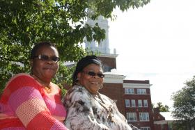 Verneesa and Jacky Ross think bringing social service agencies to the St. Paul's campus could be a good thing.