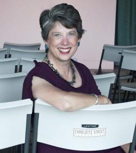 Charlotte Street Foundation's new executive director, Julie Gordon Dalgleish.