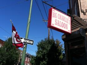 Big Charlie's Saloon is a Chiefs bar in the middle of Eagles territory.