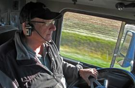 Curt Friesen says harvest is hectic, but it's his favorite time of year.