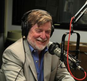 Neal Conan shares a laugh with former Talk of the Nation Political Junkie Ken Rudin during his interview on Up to Date.