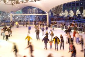 The Crown Center Ice Terrace opens this weekend.