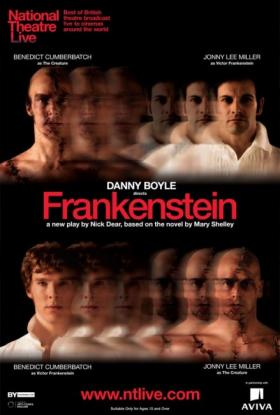 The National Theatre of London's presentation of Frankenstein, on screens at the Tivoli, is on Steve Walker's list this week.