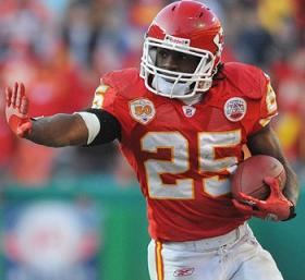 Running Back Jamaal Charles is one of the keys to the Chiefs success this season.