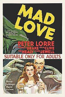 Mad Love is on the DVD Gurus' list of their favorite horror films.