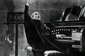 'The Phantom of the Opera' starred Lon Chaney, as the phantom who haunts the Paris Opera House.