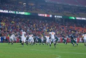 Northwest Missouri State plays Pitt State at Arrowhead stadium in 2012.
