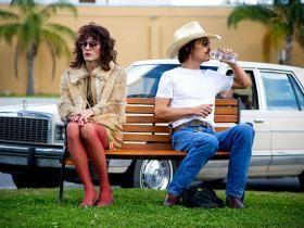 Rayon (Jared Leto) and Ron Woodroof (Matthew McConaughey) become unlikely allies in 'Dallas Buyers Club.'