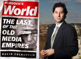 NPR media correspondent David Folkenflik is the author of 'Murdoch's World: The Last of the Old Media Empires.'