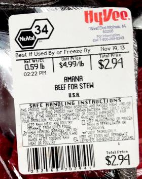 Previously, regulations required meatpackers merely to list the countries the meat had passed through. The new labeling laws call for more detail.